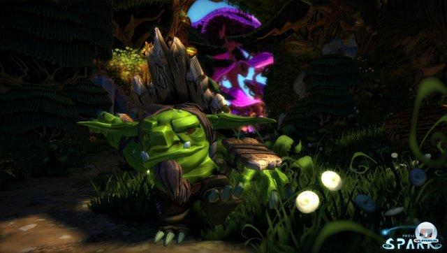 ...Orks oder andere Figuren und Szenarien - in Project Spark ist vieles möglich.