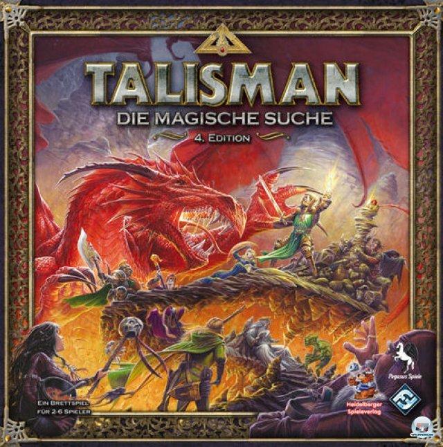 """""""Talisman: Die magische Suche"""" ist in vierter Edition komplett auf Deutsch beim Heidelberger Spielverlag erschienen und kostet knapp 40 Euro."""