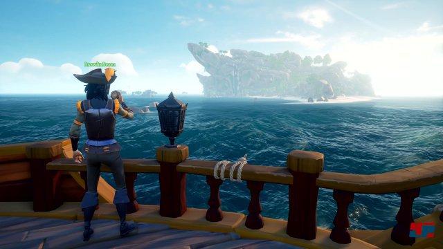 Insel in Sicht! Ist es auch die richtige?