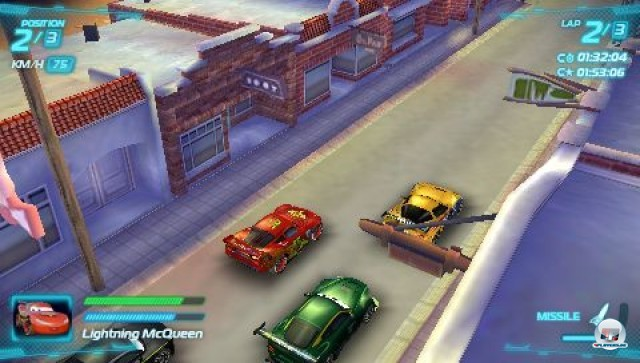 Screenshot - Cars 2: Das Videospiel (PSP) 2231609