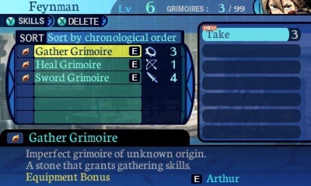 Das Remake bietet etwas mehr Komfort hinsichtlich der Steuerung. Nur das Mixen der Grimoire-Steine ist etwas un�bersichtlich.
