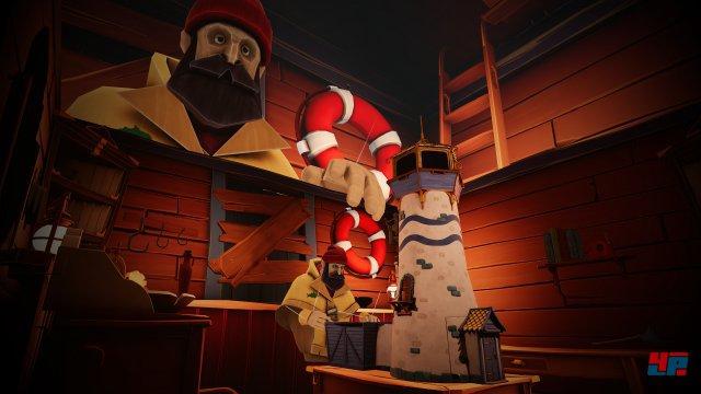 Das Ziel ist einfach: Der Spieler muss zur verriegelten Spitze des Leuchtturms gelangen, um Seefahrer vorm heranziehenden Sturm zu warnen.
