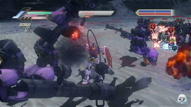 Screenshot - Dynasty Warriors: Gundam 3 (360)
