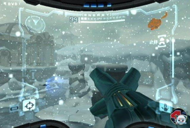 <b>Metroid Prime</b><br><br> Ein weiterer Geniestreich der GameCube-Ära: Die neu gegründeten Retro-Studios verfrachteten das Metroid-Prinzip erfolgreich in die Ego-Perspektive. Mystische Stollen, Erkundungsreize, motivierende Upgrades und spannende Bosskämpfe machten Metroid Prime und den Nachfolger zu exklusiven Highlights. 2347132