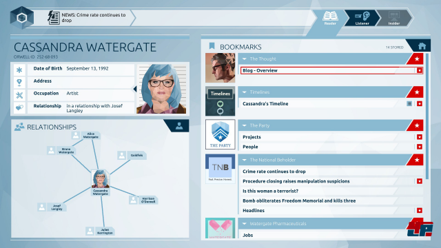 Screenshot - Orwell (PC)