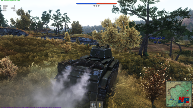 Beschränkt: Bisher sind nur wenige sowjetische und deutsche Modelle verfügbar. Darunter der T-28 und Panzer III.