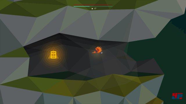 Wenn man den Daw-Level nach der Hammer-Apparatur rechts unten verlässt, gelangt man in die Fuchshöhle. Am Ende des windigen Dornentunnels kann man an der linken Felswand eine versteckte Höhle betreten, in der sich die Rune findet.
