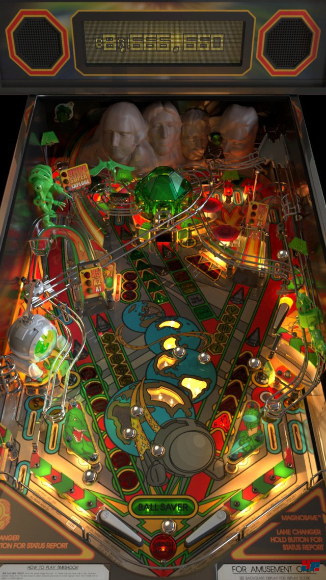 Screenshot - Pro Pinball: Timeshock! (Android)