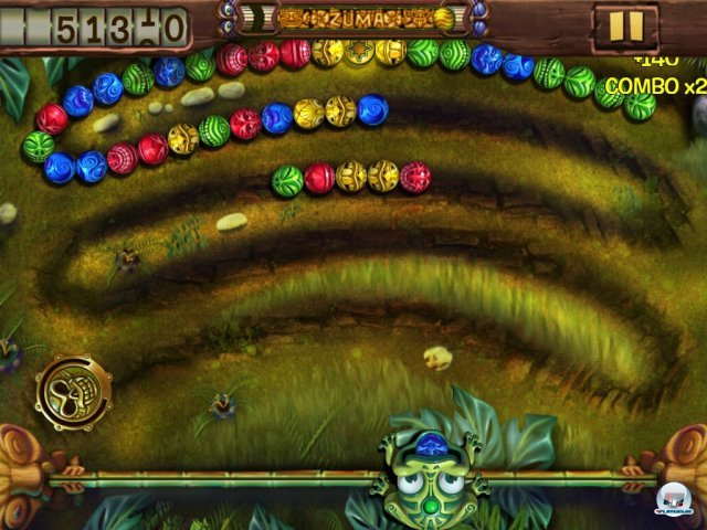 Screenshot - Zuma's Revenge! HD (iPad)