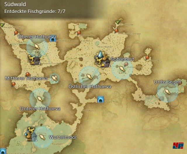 Final Fantasy XIV Online: A Realm Reborn - Fischgr�nde: Finsterwald, S�dwald