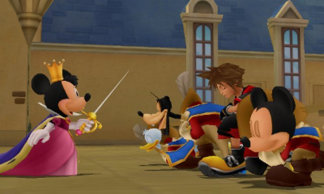 Screenshot - Kingdom Hearts 3D: Dream Drop Distance (3DS) 2354267