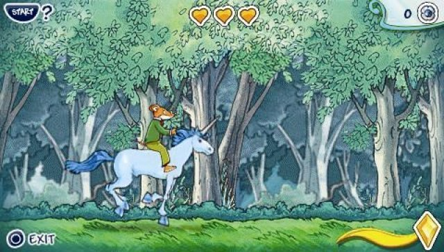 Screenshot - Geronimo Stilton: Return to the Kingdom of Fantasy (PSP)