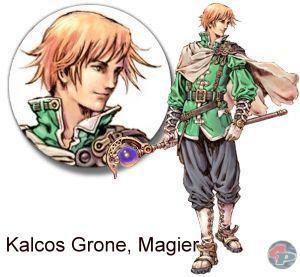 Kalcos Grone, Quest-NPC