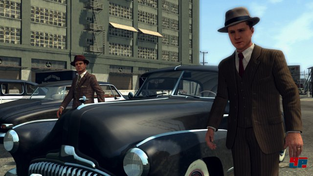 Auch wenn man auf Switch die technisch schwächste Version bekommt, sie L.A. Noire gut aus.
