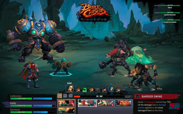 Screenshot - Battle Chasers: Nightwar (PC)