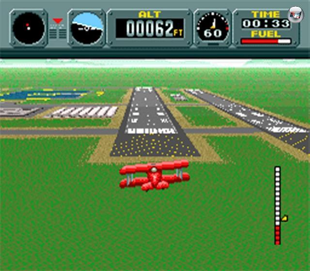 Das ist übrigens keine Errungenschaft der Neuzeit: Bereits 1990 durften Spieler auf dem SNES mit Leichtflugzeugen oder am Drachen hängend ihren Pilotenschein machen - Pilotwings weckt schöne Erinnerungen. Hach, Pilotwings... 2097798