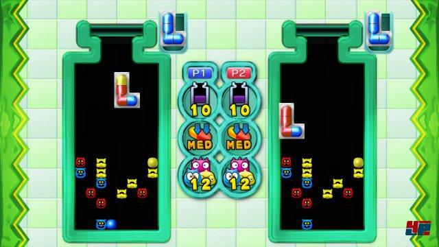 Zwei-Spieler-Duelle sind sowohl lokal als auch online möglich.