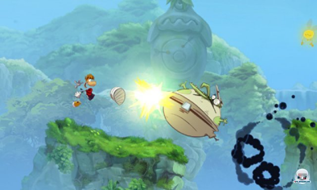 Screenshot - Rayman Origins (3DS) 2367107