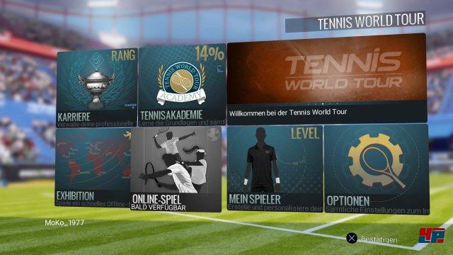 Onlinemodi sollen erst noch folgen. Gleiches gilt für Doppel-Matches.