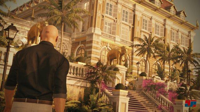 Das Hotel Ressort in Bangkok weckt Erinnerungen an das Anwesen in Paris.