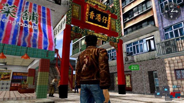 Vor allem das Milieu einer japanischen Stadt wird spürbar.