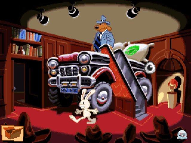 Screenshot - Sam & Max Hit the Road (PC) 92431827