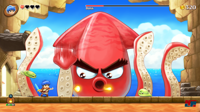 Screenshot - Monster Boy and the Cursed Kingdom (PC)