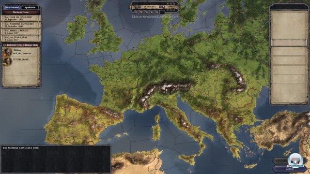 Die Szenarien ziehen sich von der Eroberung Englands 1066 bis grob 1400.