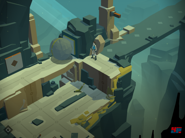 Screenshot - Lara Croft Go (iPad)