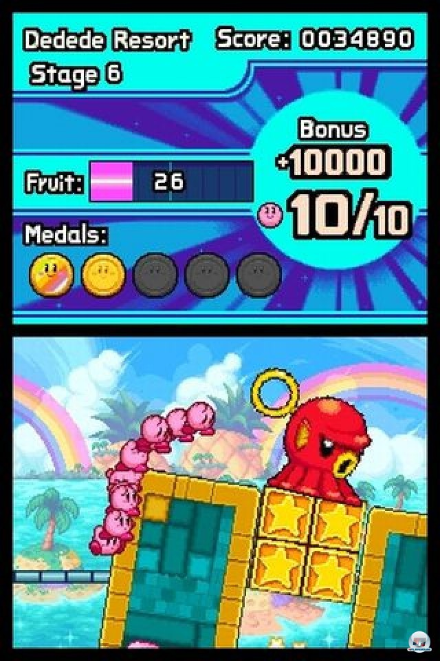 Screenshot - Kirby: Mass Attack (NDS) 2252027