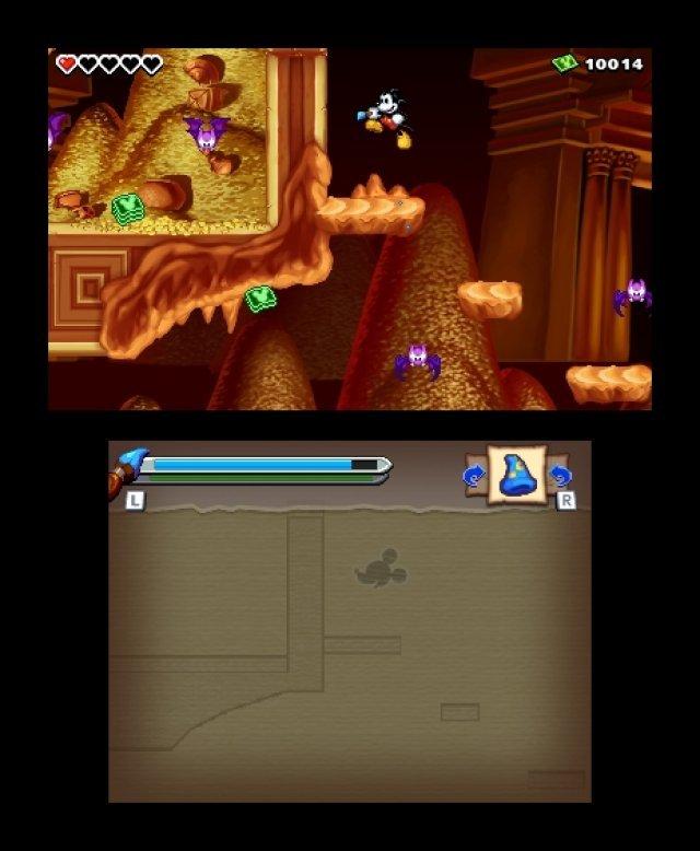 Screenshot - Micky Epic - Die Macht der Fantasie (3DS) 92406592