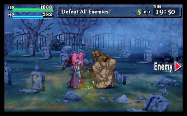 Screenshot - Code of Princess (3DS)