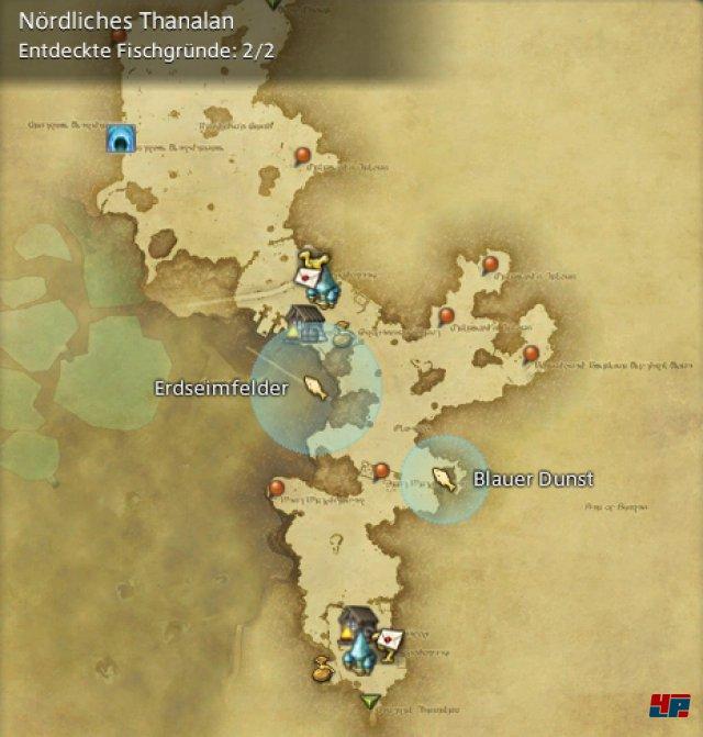 Final Fantasy XIV Online: A Realm Reborn - Fischgründe: Thanalan, Nördliches Thanalan