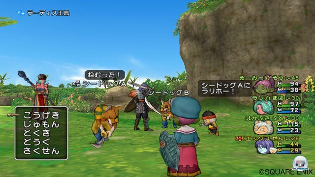 Screenshot - Dragon Quest X Online (Wii) 2287222