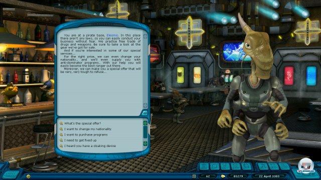 Quests und Aufgaben löst ihr meist in Textfenstern.