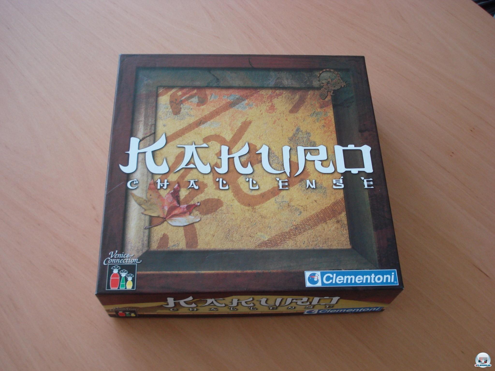 Kakuro Challenge ist 2006 für zwei bis vier Spieler bei Clementoni erschienen; es kostet knapp zehn Euro.