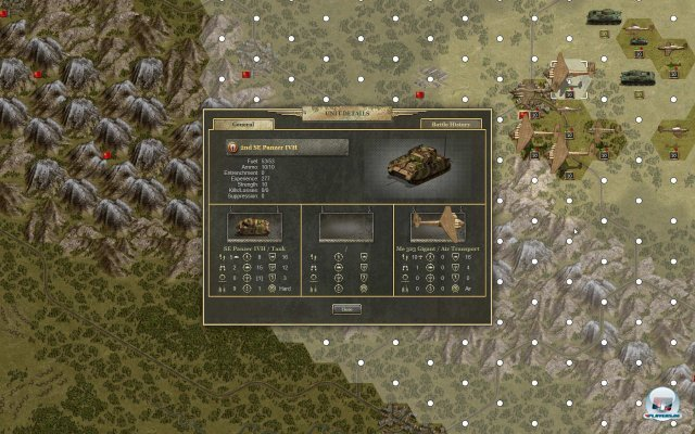 Screenshot - Panzer Corps: Afrika Korps (PC-CDROM)