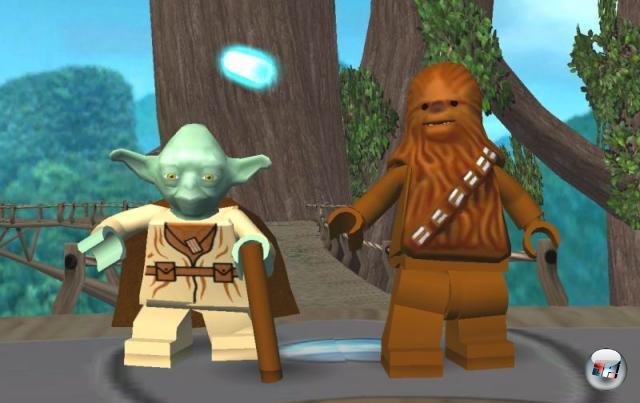<b>Lego Star Wars-Reihe</b><br><br>Zum Abschluss unserer Bilderserie präsentieren wir euch voller Stolz die unserer Meinung nach beste Kollaboration zweier Marken seit Brot und Schneidwerkzeugen: Lego Star Wars! Ein herrlich albernes Spiel, das seit 2005 ebenso liebevoll wie bekloppt die Reihe auf die Schippe nimmt, und dabei auch noch irre viel Spaß macht! Und außerdem einen Trend in Gang gesetzt hat, der aller Wahrscheinlichkeit nach nicht so schnell aufhört: Lego Irgendwas-Games - Indiana Jones und Batman sind schon verwurstet, die Lego X-Men, Lego Resident Evil und Lego Beverly Hills 90210 sind nur eine Frage der Zeit... 1855253