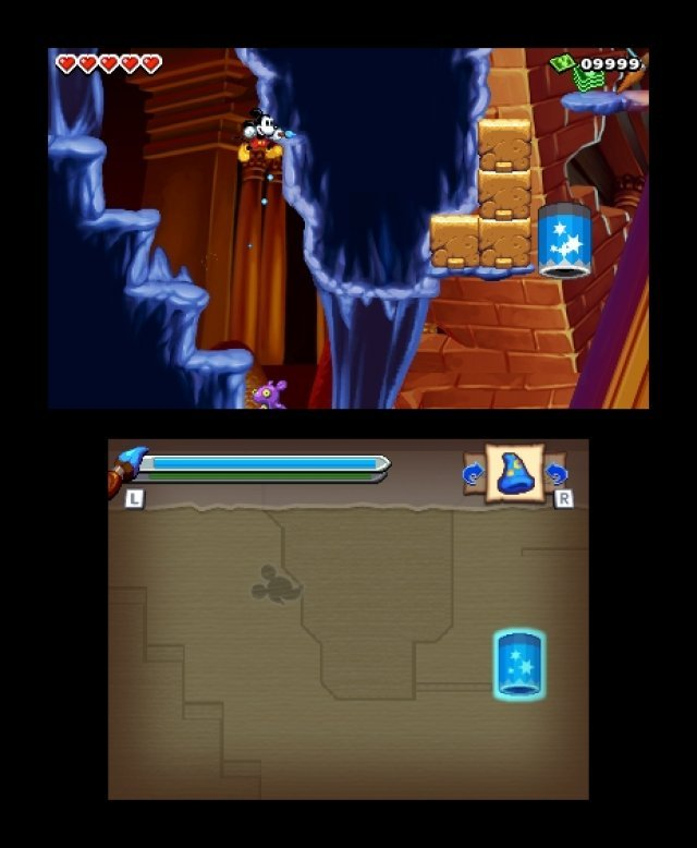 Screenshot - Micky Epic - Die Macht der Fantasie (3DS) 92406577