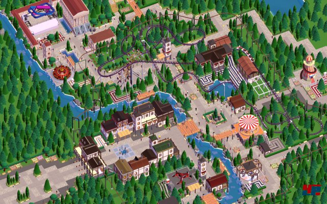 Screenshot - Parkitect (Mac)