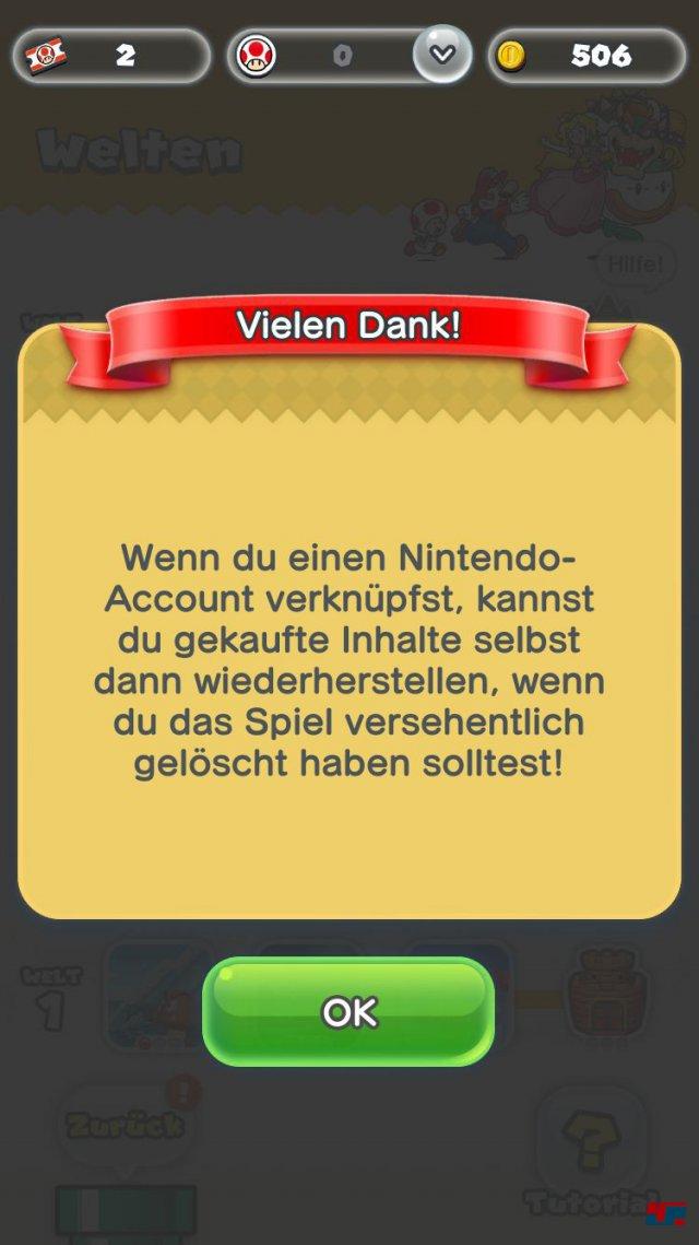 Screenshot - Super Mario Run (iPad) 92537685