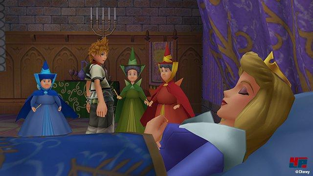 Der Reiz der Serie liegt nicht nur in der weit verzweigten Basis-Geschichte, sondern auch an den intelligenten Verbinungen mit Disney-Welten sowie Final-Fantasy-Figuren.