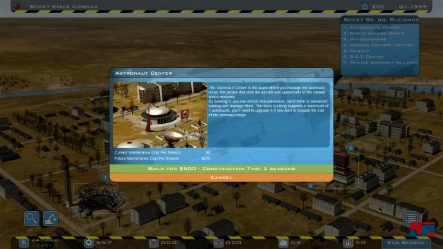 Screenshot - Buzz Aldrin's Space Program Manager (PC)