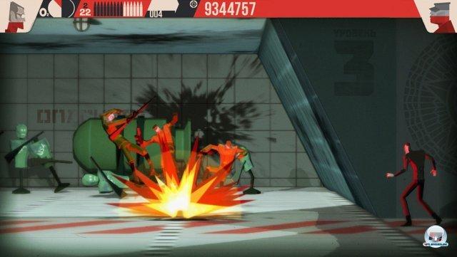 Auch schwere Waffen kommen zum Einsatz. Feindliche Raketen? Kann man abschießen!