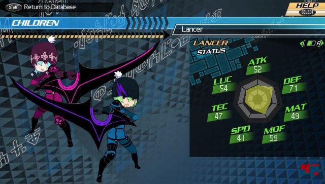 Der gezeugte Nachwuchs kann einer von 18 Charakterklassen angehören.