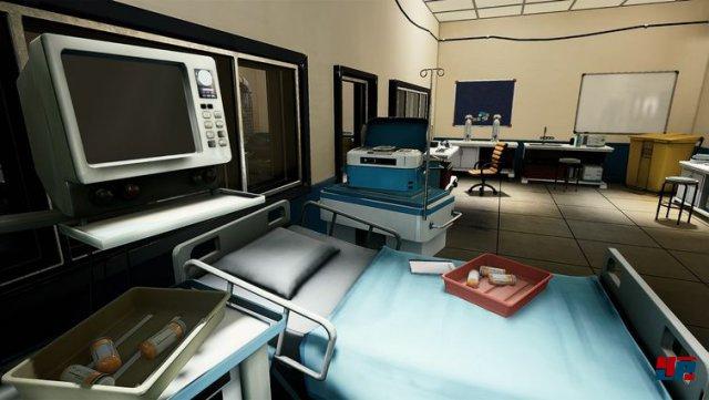 Organisations-Mitglied Cal kann sich freier im geheimen Forschungs-Bunker bewegen.
