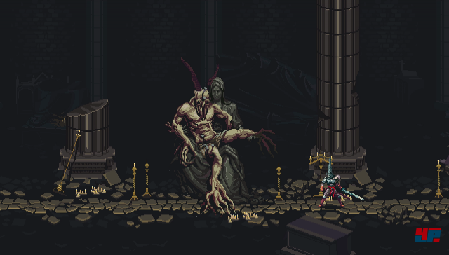 Screenshot - Blasphemous (Linux)