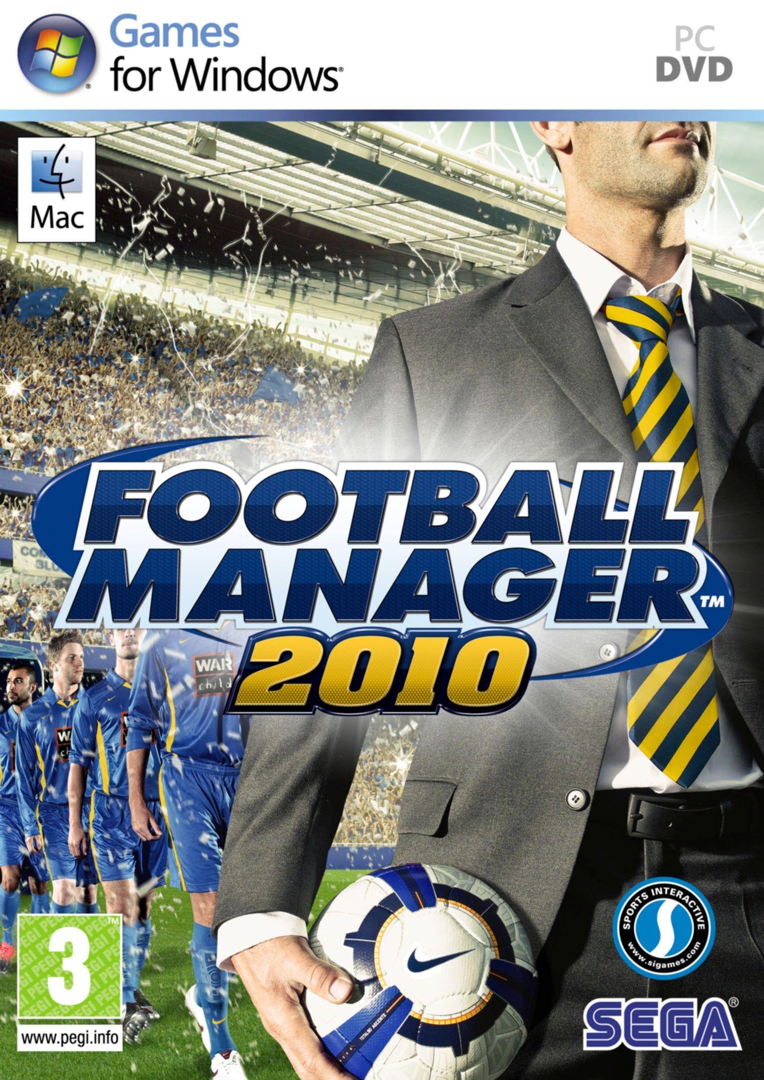 Bышел второй большой патч для Football Manager 2010.