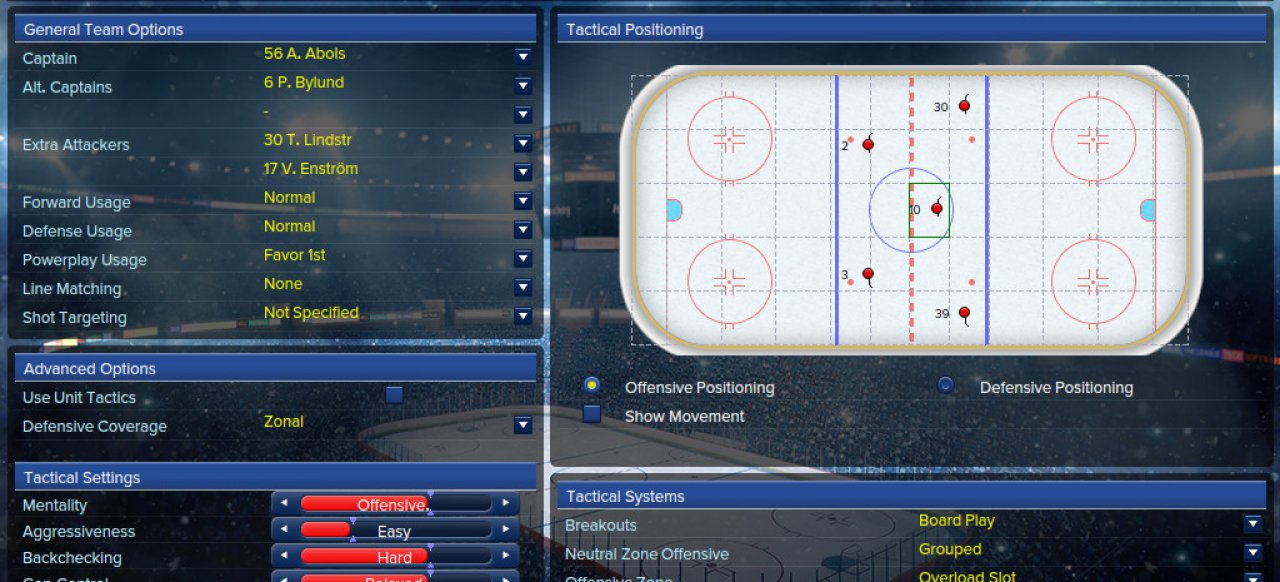Eastside Hockey Manager (Sport) von SEGA