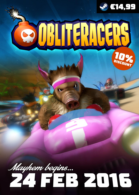 Alle Infos zu Obliteracers (PlayStation4)